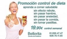 Promoción control de dieta en BELLORITA