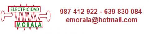 Logotipo de ELECTRICIDAD MORALA