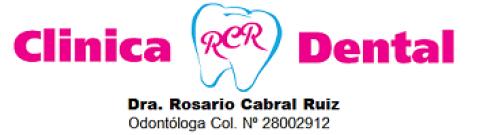 Logotipo de CLÍNICA DENTAL RCR - Dra. Rosario Cabral Ruiz Col. Nº 28002912
