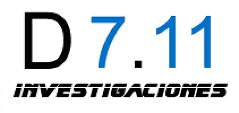 Logotipo de D7.11 INVESTIGACIONES
