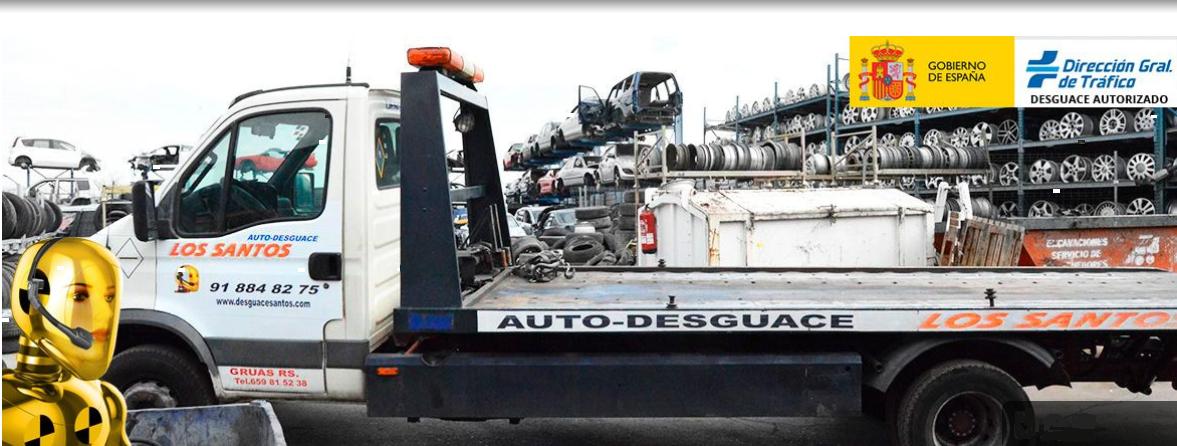 AUTO-DESGUACE LOS SANTOS: Desguaces