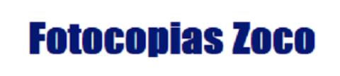 Logotipo de FOTOCOPIAS ZOCO