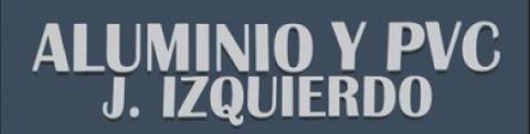 Logotipo de ALUMINIO Y PVC J. IZQUIERDO