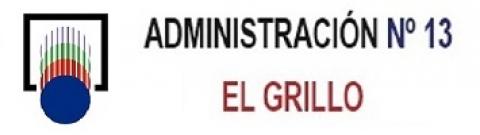 Logotipo de ADMINISTRACION Nº13 - EL GRILLO