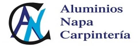 Logotipo de ALUMINIOS NAPA