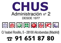 Banner Derecha Administracion Chus Alcobendas Estancos, Loterias